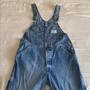 Retro Lucky Brand Relaxed Overalls Small